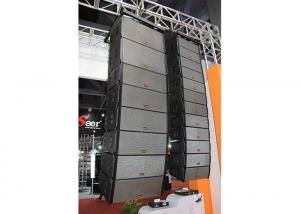 China Neodymium Nightclub Sound Equipment 8 2 Way 250W RMS Outdoor Line array Speakers on sale