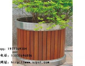 China Manufacturers selling wooden flowerpot anticorrosive wood box on sale