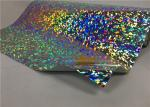 High Elasticity Holographic Heat Transfer Foil 50cm*25m Bright Color For Clothing