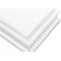 China 100% Virgin Triple Layer Polycarbonate Sheet , Polycarbonate Roof Panels For Sunroom on sale