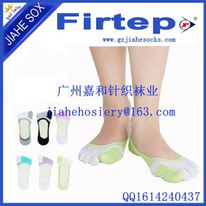 China Comfortable five toe socks for men, cotton yoga socks supplier on sale