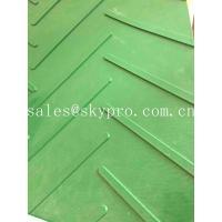 2mm Green PVC Conveyor Belt , High Strength PVC PU Conveyor Belt For Incline