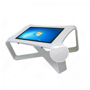 China 43 Inch Portable Interactive Multi Touch Screen Table Half - Standing For Dining Room on sale