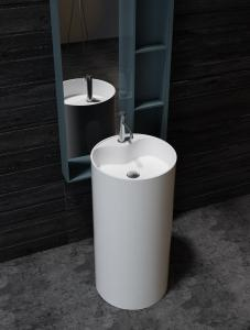China Modern Design Freestanding Bathroom Basin UV Resistant Eco Friendly on sale