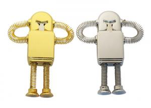 China Little Diamond Robot U Disk Mini personalized USB Memory Sticks on sale