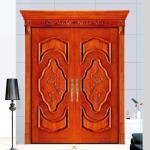 House used swing main entrance wooden door/ MDF door, double wood door