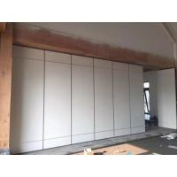 Conference Rooom Sliding Partition Walls Sound Proof Materials No Need Floor Track