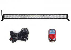 "China 40"" 240W remote control led light bar with spot / flood / combo beam 16800LM on sale"