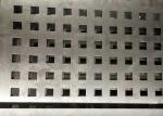 Square Hole Perforated Steel Plate Galvanized Sheet For Architectural