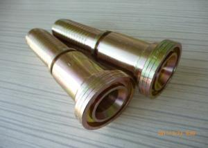 China Hose 6000PSI SAE Hydraulic Flanges With Brass , Winner Standard on sale