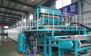 China 4 Faces Rotary Pulp Moulded Machinery Energy Saving For Egg Carton And Egg Box on sale