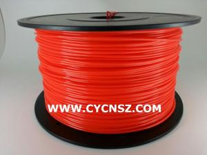 China SGS RoHS certify 3D print filament /PLA Fluorescent colors /1.75mm /3.00mm /1kg on sale