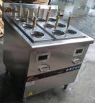 3 Phase Commercial Catering Equipment , 9 Basket Induction Pasta Cooker With Cabinet