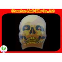 Printed emblem skull emblems skull blinking led lights flashing badges
