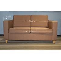Wood frame , fabric Material Hotel Lobby Sofa Bed with mattress for Modern Hotel