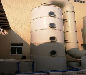 China 500 Mm Smoke Extraction System, Fume Scrubber System For Hot Dip Galvanized Line on sale