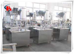 China Low Consumption Pure Water Filling Machine 3 In 1 Production Line Avoiding Second Pollution on sale