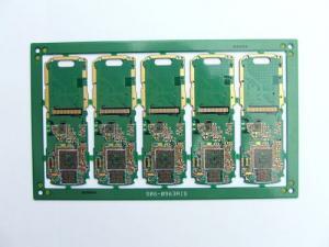 China FR4 1ozの銅の厚さ管理委員会、携帯電話のマザーボードのための6つの層PCB on sale