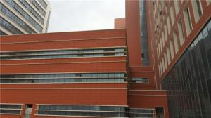 China Natural Clay Architectural Terracotta Panels / Building External Wall Panels on sale