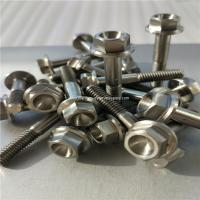 Titanium metal Gr5 grade 5  M6 x 15 mm DIN 6921 Hex Head Flange Bolt Screw Fastener