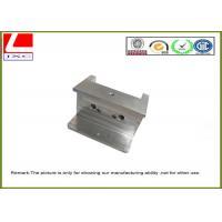 Micro Custom CNC Aluminium Machining Adapter Front With Nature Anodization