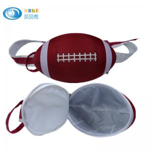China Red Customized Rugby Sports Eva Bag / American Football Bag Waterproof on sale