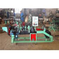 Automatic Barbed Wire Making Machine , Iron Wire Making Machine 3 Inch - 6 Inch Twist