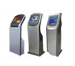 China 22in interactive self service kiosk for bank,mall on sale