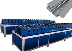 China Steel Cable Tray Roll Forming Machine , Metal Sheet Roll Forming Machine With Cr12Mov Rollers on sale