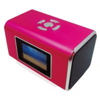 TT-6 Pink, Green NIZHI Mini Speaker can show Song name, Lyrics, and singer