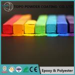 Durable RAL 2012 Thermoset Powder Coating For Computer Bodies Sandy Appearance