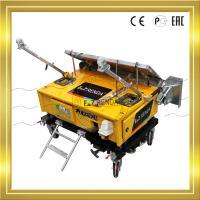 Auto Gypsum Plaster Machine 4mm - 30mm Render Height 4.2m Single Phase