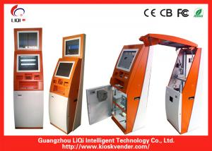 China Multifunction Financial Bill Payment Kiosk With Wi-Fi / Card Reader on sale