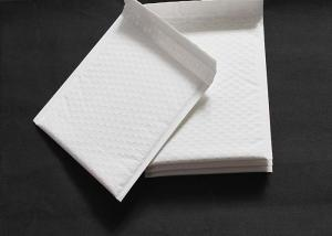 China Hot Stamping Padded Postal Envelopes Stone Paper With Zipper / Button on sale
