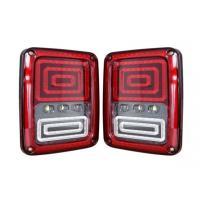 ABS Material Car Turn Signal Lights / Jeep Wrangler Tail Lights With USA And Euro Plug