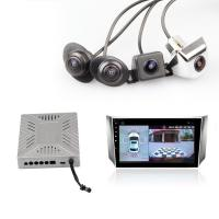Universal 360 Degree Car Camera System Four HD Cameras Driving Assistant System