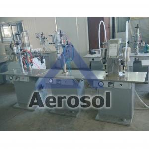 China ASL-3A Semi-automatic Aerosol Filling Machine on sale