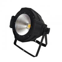 China Indoor black Aluminum housing 3200-6500K 100W Warm White/White 2in1 LED COB Par Stage Lights on sale