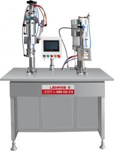 China Semi Automatic Bag on Valve Aerosol Filling Machine supplier