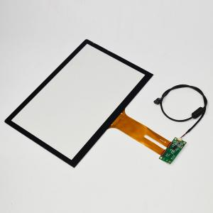 China 5 Points Touch Capacitive Touch Glass Screen , Ipad / Phone Screen Panel on sale