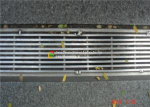 China Customized Stainless Steel Trench Grate , Drain  Cover for Drainage System on sale