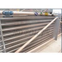 Flue Gas Economiser For Boiler , Heat Economizer In Power Plant Anti Corrosion ASME Standard