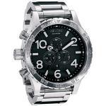 relógios nadadores plásticos de nixon da pulseira de quartzo para homens