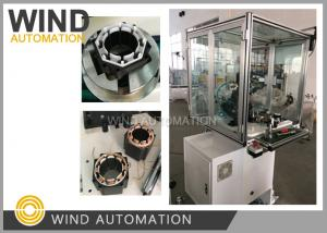 China Eight Poles BLDC Stepping Motor Stator Winding Machine With  Two Needles on sale