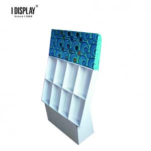 China 8 Cells Recyclable Strong Cardboard Display Stands For Notebook And Greeting Card on sale