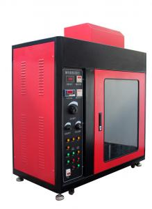 China IEC60112 Leakage tracking index tester UL746A, ASTM D3638 Flame test chamber on sale