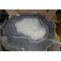 Large agate slice craft