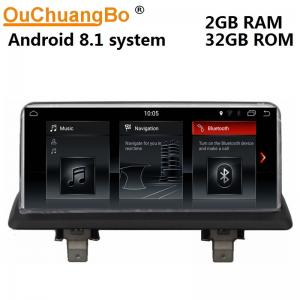 China Ouchuangbo car audio gps navi stereo for BMW XE87 2005-2012 with SWC BT 1080 video USB android 8.1 on sale