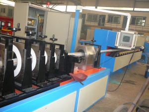 China High Impact Wire And Cable Machinery , Production Line For Corrugation Sheath Cable on sale