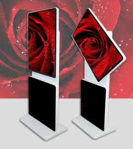 """China Touch screen 55""""rotating kiosk interactive Free Standing Kiosk Digital Signage with LAN / wifi / 3g network DDW-AD5501S on sale"""